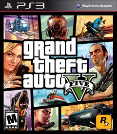 Grand Theft Auto V PlayStation 3 Box Art