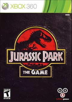 Jurassic Park: The Game Xbox 360 Box Art