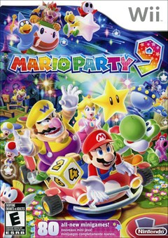 Mario Party 9 Wii Box Art