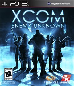 XCOM: Enemy Unknown PlayStation 3 Box Art