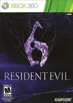 Resident Evil 6 Xbox 360 Box Art