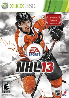 NHL 13 Xbox 360 Box Art