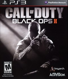 Call of Duty: Black Ops II PlayStation 3 Box Art