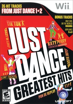 Just Dance Greatest Hits Wii Box Art