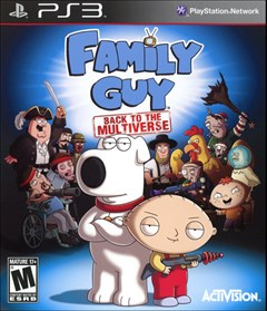 Family Guy: Back to the Multiverse PlayStation 3 Box Art