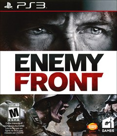 Enemy Front PlayStation 3 Box Art