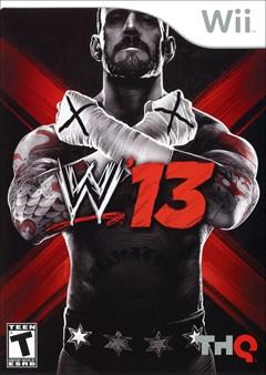 WWE 13 Wii Box Art