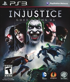 Injustice: Gods Among Us PlayStation 3 Box Art