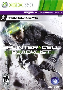 Tom Clancy's Splinter Cell: Blacklist Xbox 360 Box Art