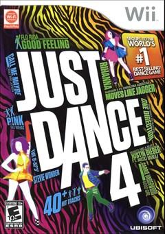 Just Dance 4 Wii Box Art