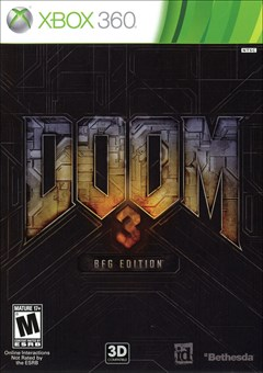 Doom 3: BFG Edition Xbox 360 Box Art