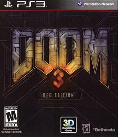 Doom 3: BFG Edition PlayStation 3 Box Art