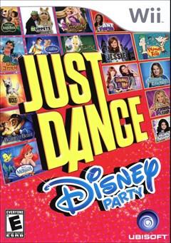 Just Dance: Disney Party Wii Box Art