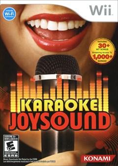 Karaoke Joysound Wii Box Art