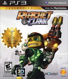 Ratchet & Clank Collection PlayStation 3 Box Art