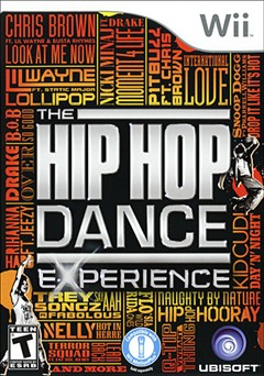 The Hip Hop Dance Experience Wii Box Art