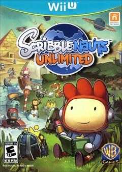 Scribblenauts Unlimited Wii U Box Art