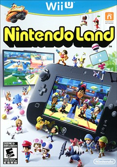 Nintendo Land Wii U Box Art