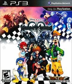 Kingdom Hearts HD 1.5 Remix PlayStation 3 Box Art