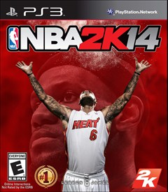 NBA 2K14 PlayStation 3 Box Art