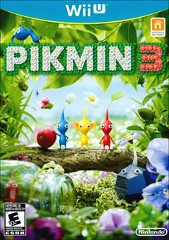 Pikmin 3 Wii U Box Art