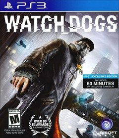 Watch Dogs PlayStation 3 Box Art