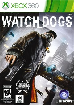 Watch Dogs Xbox 360 Box Art