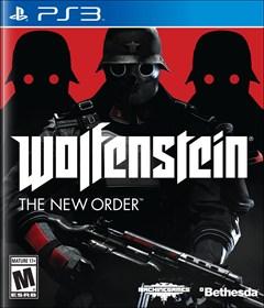 Wolfenstein: The New Order PlayStation 3 Box Art