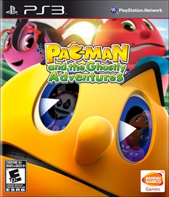 PAC-MAN and the Ghostly Adventures PlayStation 3 Box Art