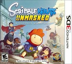 Scribblenauts Unmasked: A DC Comics Adventure Nintendo 3DS Box Art