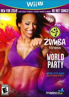 Zumba Fitness World Party Wii U Box Art