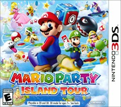 Mario Party: Island Tour Nintendo 3DS Box Art