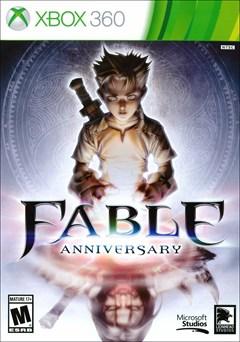 Fable Anniversary Xbox 360 Box Art