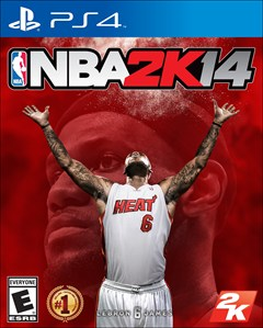 NBA 2K14 PlayStation 4 Box Art