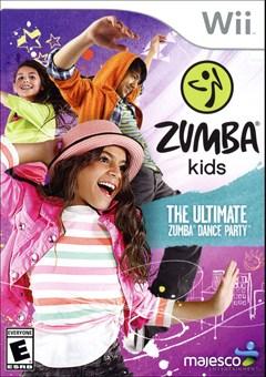 Zumba Kids Wii Box Art