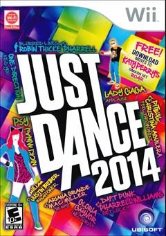 Just Dance 2014 Wii Box Art