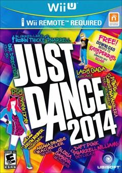 Just Dance 2014 Wii U Box Art