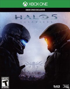 Halo 5: Guardians Xbox One Box Art