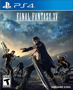 Final Fantasy XV PlayStation 4 Box Art