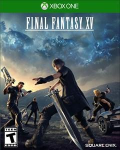 Final Fantasy XV Xbox One Box Art