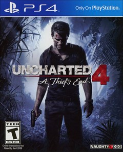 Uncharted 4: A Thief's End PlayStation 4 Box Art