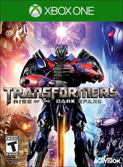 Transformers: Rise of the Dark Spark Xbox One Box Art