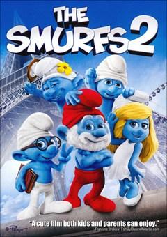 The Smurfs 2 DVD Box Art