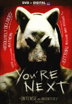 You're Next DVD Box Art