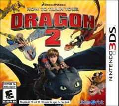 How to Train Your Dragon 2: The Video Game Nintendo 3DS Box Art