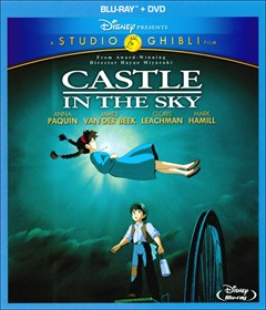 Castle in the Sky Blu-ray Box Art