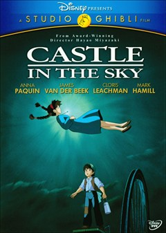 Castle in the Sky DVD Box Art
