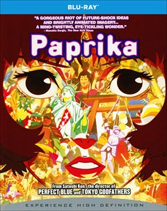 Paprika Blu-ray Box Art