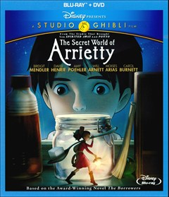 Secret World of Arrietty Blu-ray Box Art