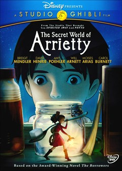 Secret World of Arrietty DVD Box Art